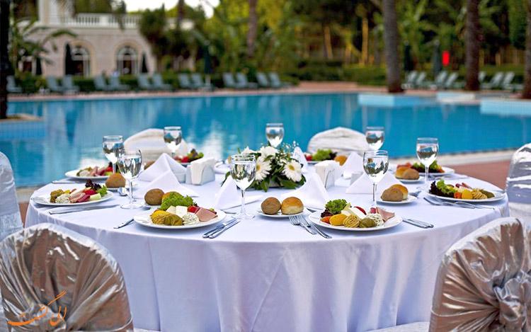 صبحانه رایگان در بهترین هتل های 4 ستاره آنتالیا