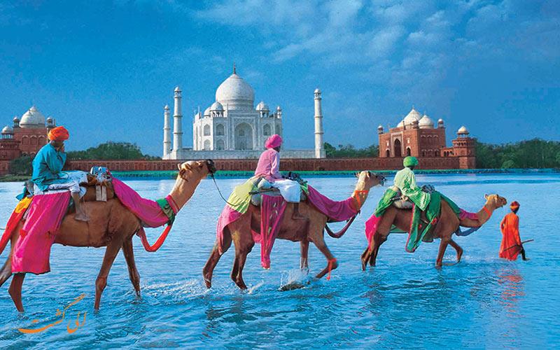 سفر زمینی به هند از ایران و دیدن تاج محل هندوستان