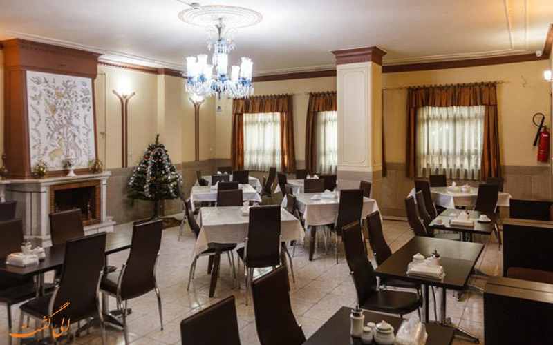 سالن غذاخوری هتل ایران