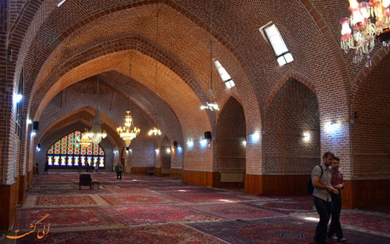 ویژگی های معماری مسجد جامع تبریز