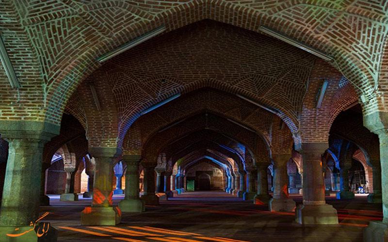 ویژگی سنگ نوشته های مسجد جامع تبریز