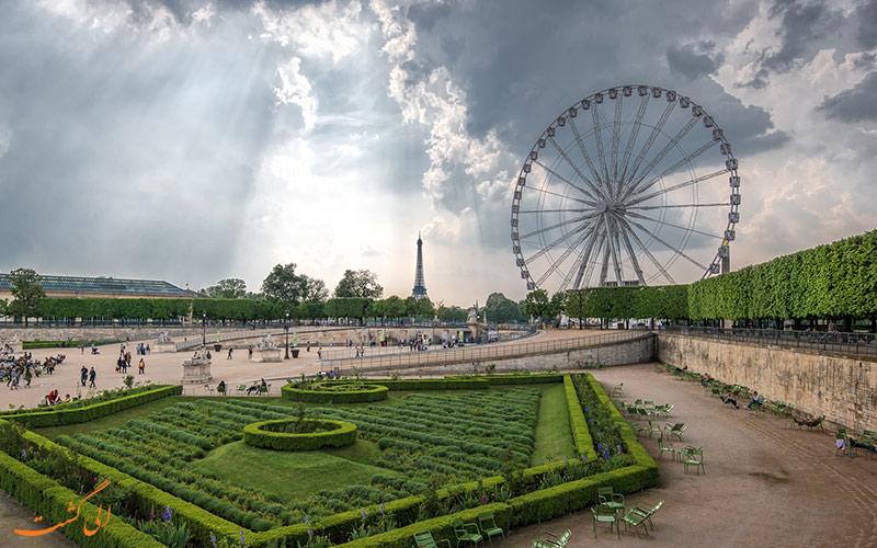 باغ تویلری در فرانسه