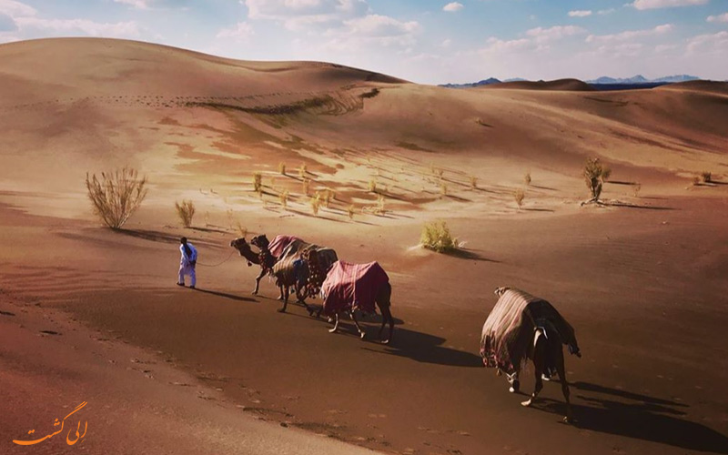 کلوت شهداد کرمان به عنوان یک جاذبه ی منحصر به فرد و طبیعی ایران شناخته می شود
