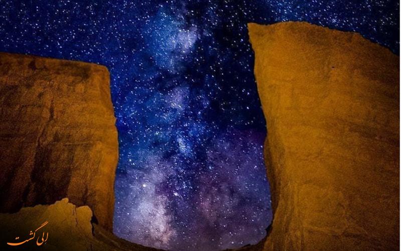 تماشای ستاره های در شب فراموش نشود!
