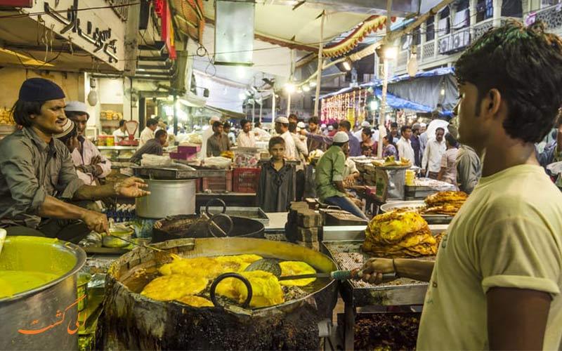 غذاهای خیابانی بمبئی