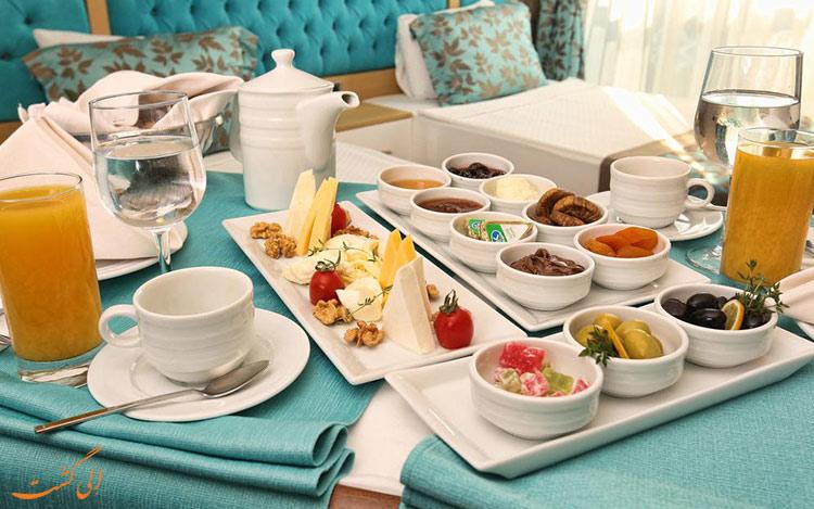 هتل لا پورت با صبحانه رایگان-بهترین هتل های 4 ستاره آنتالیا