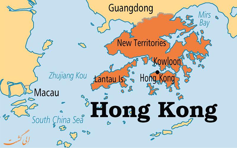 نقشه هنگ کنگ-تفاوت هنگکنگ، ماکائو و چین