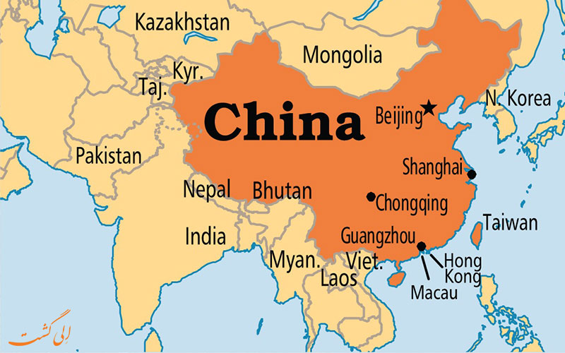 نقشه و تفاوت هنگکنگ، ماکائو و چین