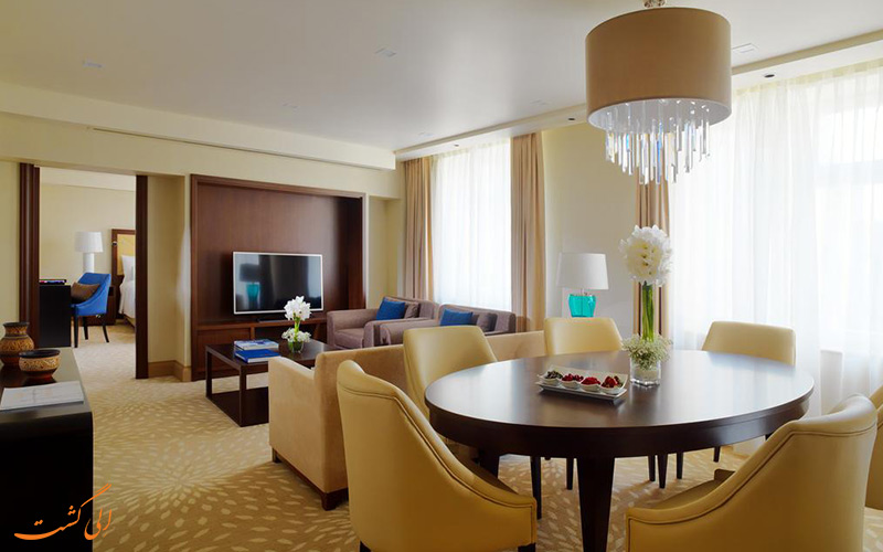 یکی از سوئیت های هتل ماریوت ارمنستان