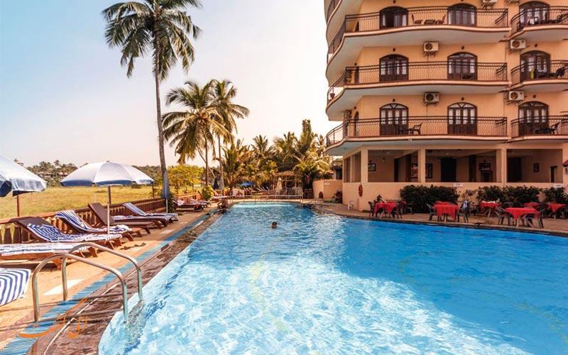 هتل نزدیک سواحل گوا-بهترین هتل های 3 ستاره