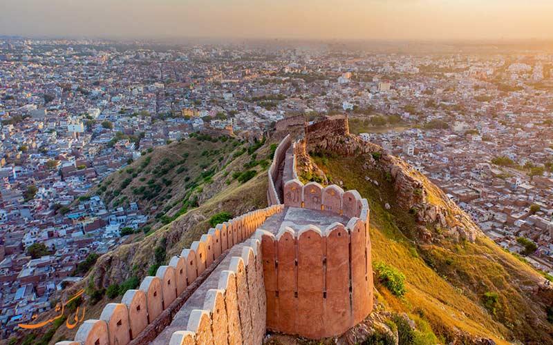 جیپور شهر صورتی هندوستان