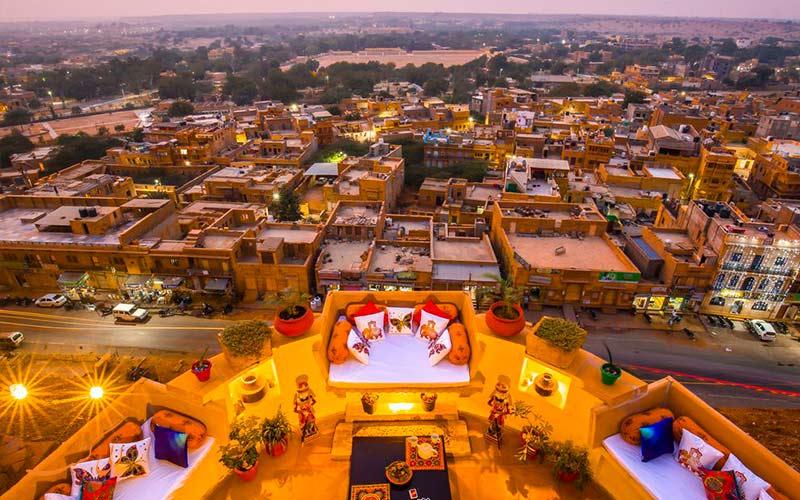 معرفی قلعه های معروف هند
