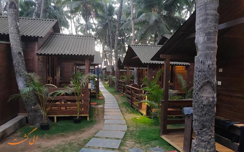 هتل رویال وودز گوا هتلی با کلبه های چوبی-بهترین هتل های 3 ستاره گوا