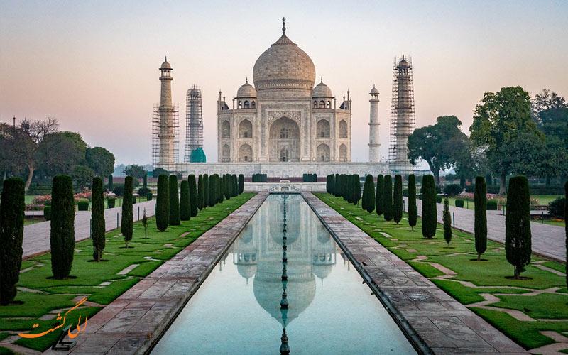 تاج محل هندوستان کجاست-میراث جهانی یونسکو هند