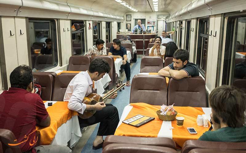 رستوران قطار تهران آنکارا و خرید بلیط