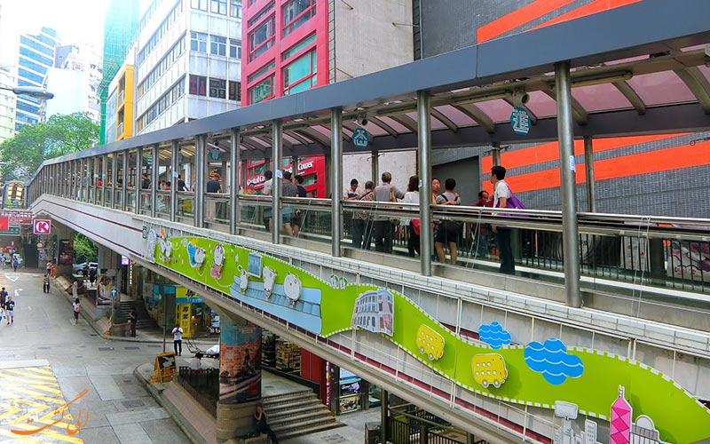مسیرهای برقی درون شهری هنگ کنگ