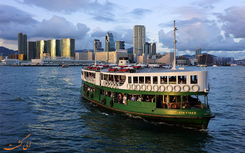 قایق های استار سبز رنگ هنگ کنگ-حمل و نقل عمومی در هنگ کنگ