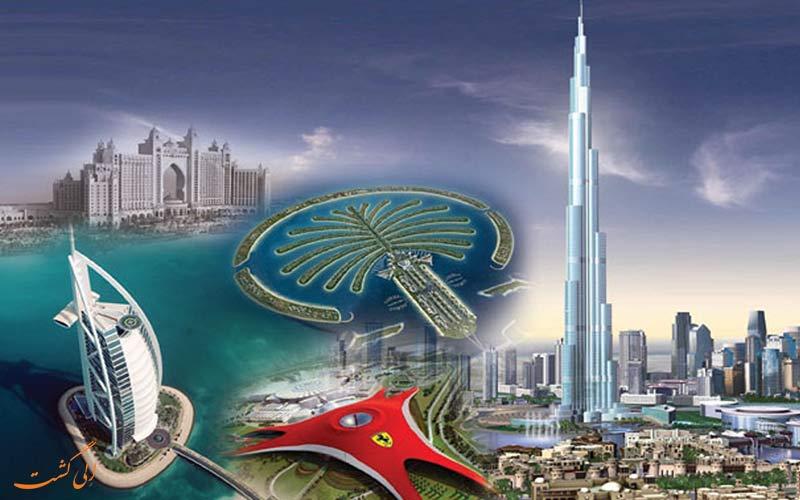 شهرهای دیدنی دبی و جاذبه هایشان