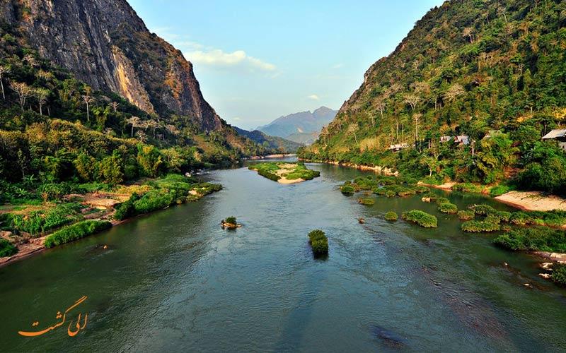 رود بزرگ چین و تایلند و برمه -رودخانه های چین