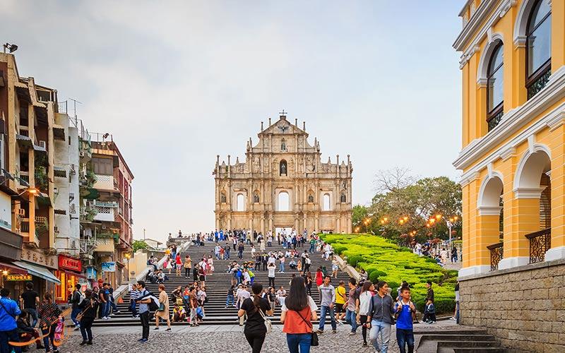 جاذبه های ماکائو به سبک پرتغالی-تفاوت هنگکنگ، ماکائو و چین