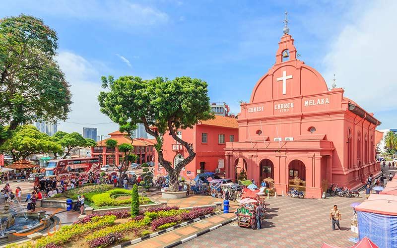 مالاکا از توریستی ترین شهرهای مالزی برای تفریحات ساحلی