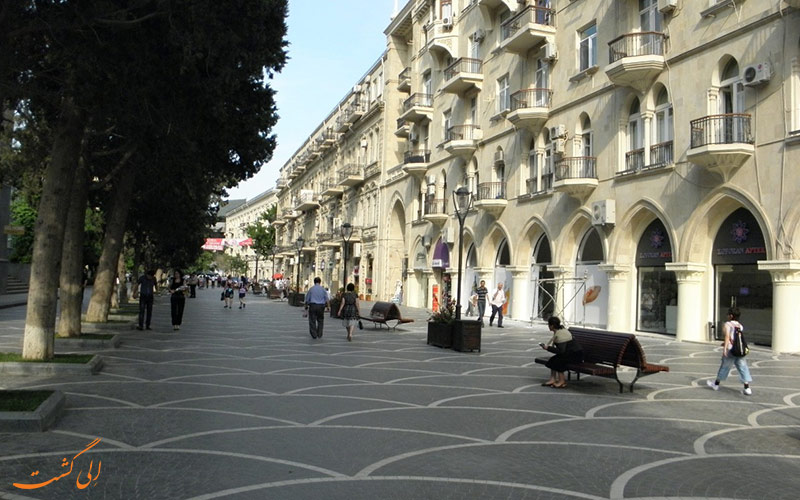 پیاده راه خیابان نظامی
