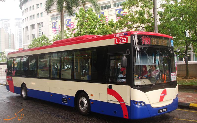 اتوبوس های کوالالامپور