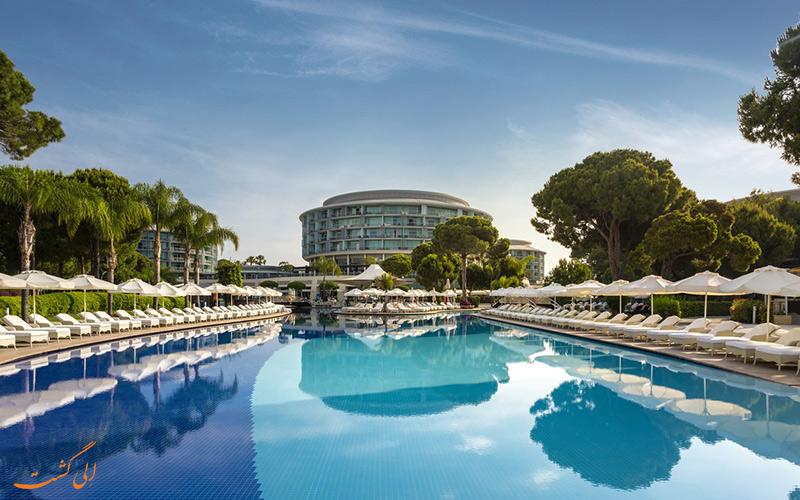 هتل ۵ ستاره کالیستا یکی از لوکس ترین هتل های 5 ستاره منطقه بلک در آنتالیا است