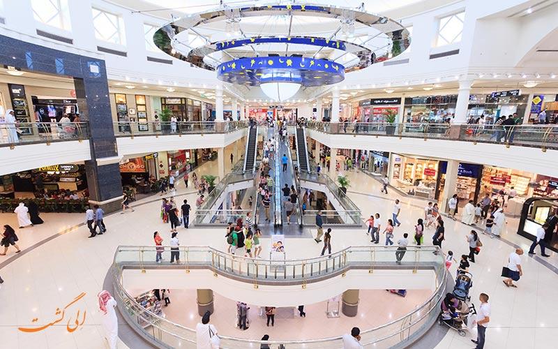 یکی از قدیمی ترین مراکز خرید دبی قبل از مراکزی نظیر ابن بطوطه، امارات مال و دبی مال، سنتردیره نیز بوده است.
