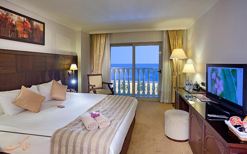 اتاق های هتل یو آل کرون پلازا در آنتالیا