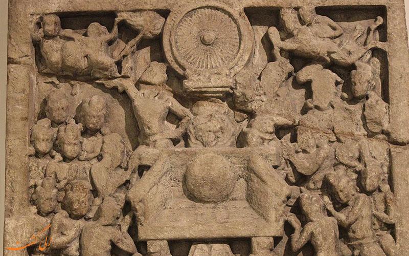 تندیسی از اساطیر هندی در موزه