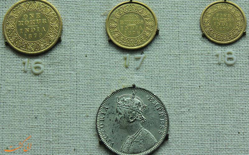 سکه های نمایش داده شده در گالری سکه موزه ملی دهلی نو