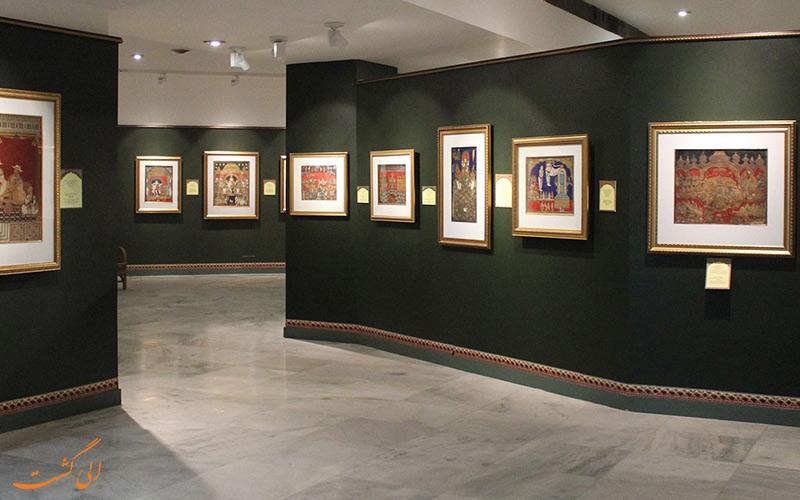 نقاشی هایی از گالری مینیاتور موزه ملی