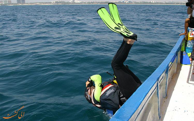 غواصی در آبهای خلیج فارس در بهترین زمان سفر به کیش