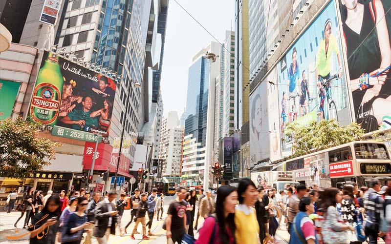 شهر مدرن هنگ کنگ و تفاوت هنگکنگ، ماکائو و چین