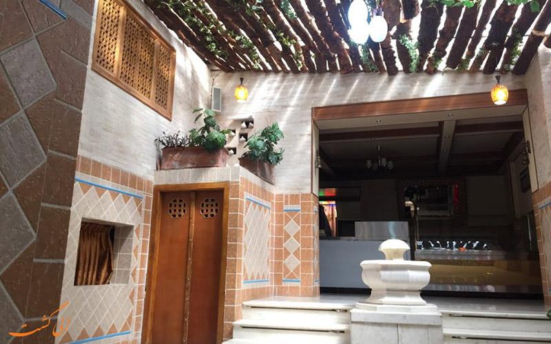 نمایی از هتل سعدی اصفهان، یکی از بهترین هتل های ارزان اصفهان