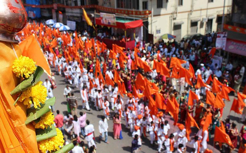 یکی از فستیوال های بمبئی
