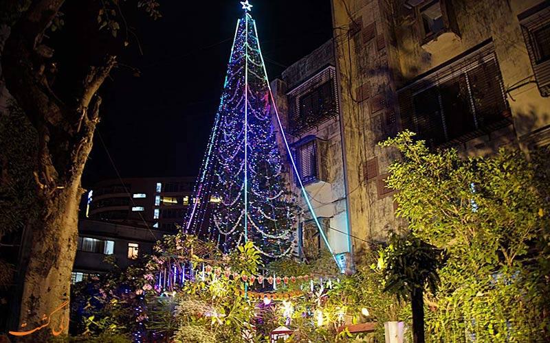 جشن سال نو در بمبئی