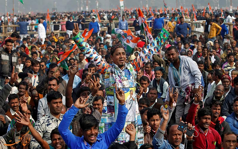 جشن دانش آموزان بمبئی