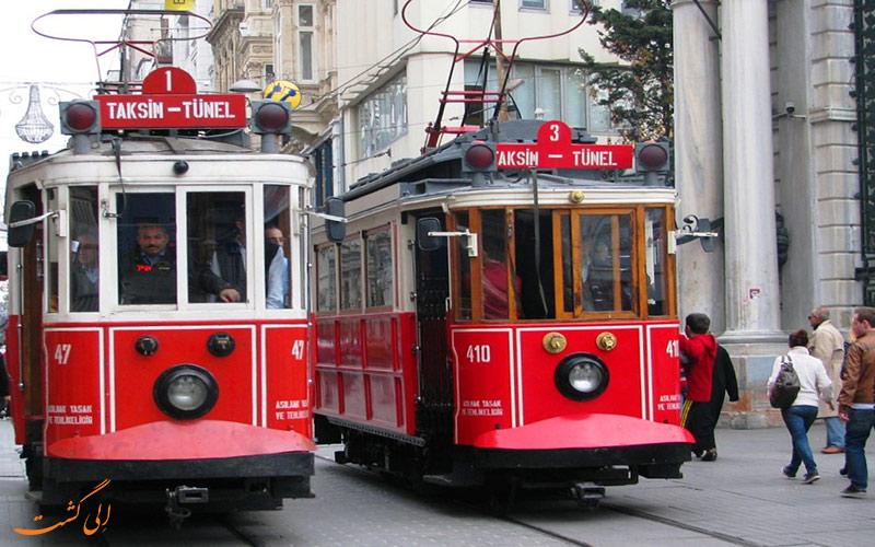 قطارهای شهری استانبول