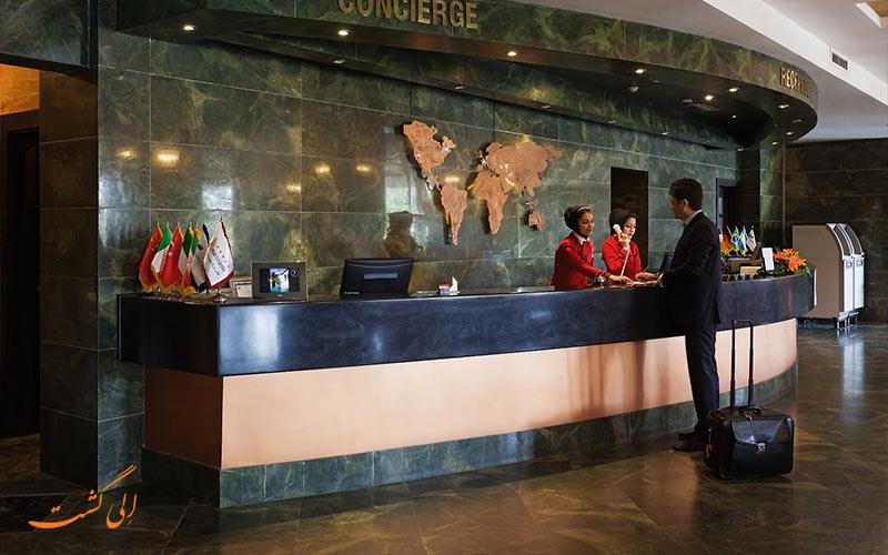پدیرش و قیمت اتاق هتل چمران شیراز