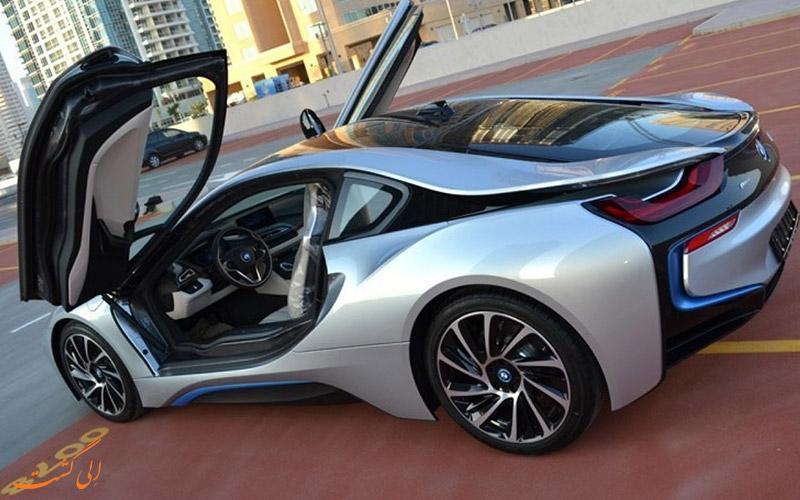 یکی از دیگر ماشین های اجاره ای در دبی