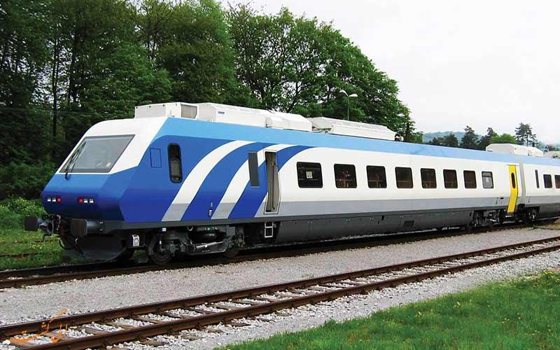 سفر با قطار پردیس سالنی شرکت رجا