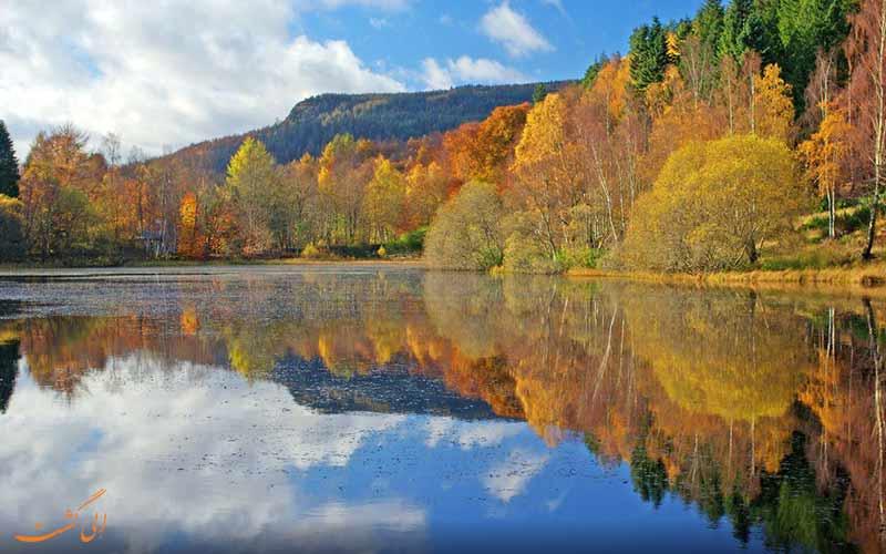 پرتشایر در اسکاتلند، رنگارنگترین شهر اروپایی برای سفر در پاییز
