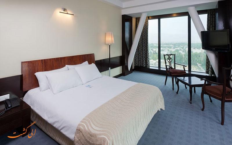نمای داخلی هتل چمران شیراز و اتاق ها