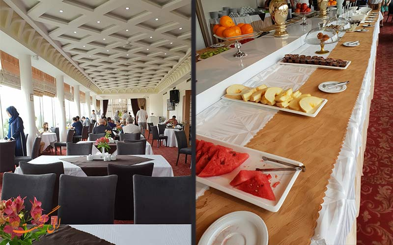 رستوران هتل سفیر اصفهان
