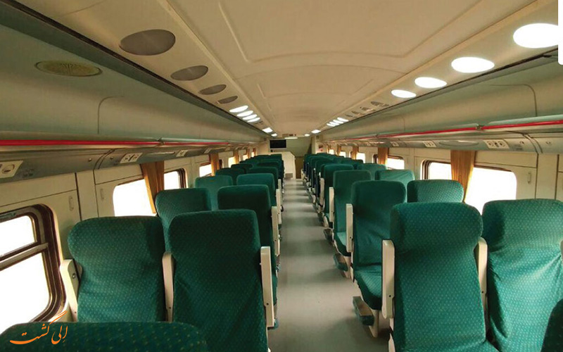 قطاراتوبوسی صبا، در 10 ساعت از تهران به مشهد برسید!