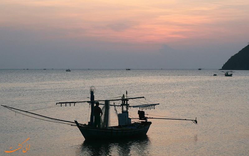 غذاهای دریایی جنوب تایلند