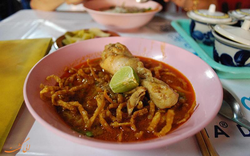 غذاهای جنوب تایلند