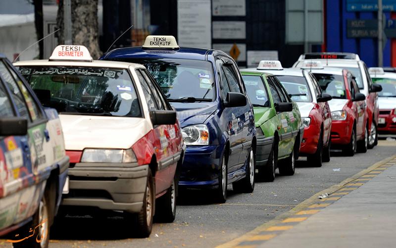 انواع تاکسی های شهر کوالالامپور
